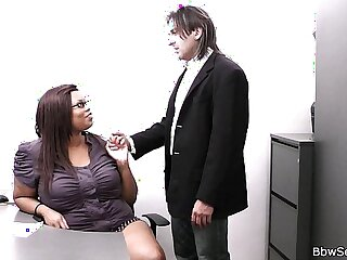 bbw boss cheating chubby ebony fat bodies