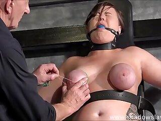 bondage foot nipples punishment slave