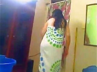 aunty bathtub indian