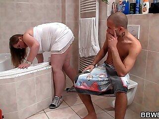 bathtub bbw big