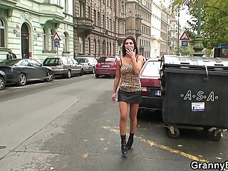 granny mature old old and young prostitute pussy