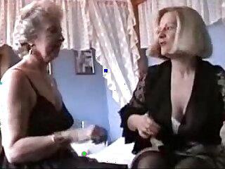 granny lesbian lingerie stockings