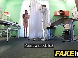 amateur boobs brunette doctor fake tits hidden cams