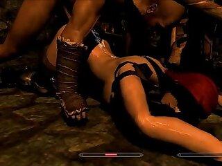 aggressive brutal forced punishment