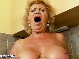 anal big blowjob boobs fingering granny
