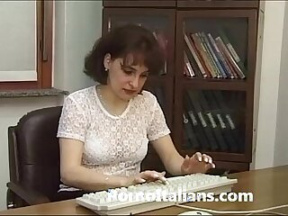 cheating italian office secretary wife