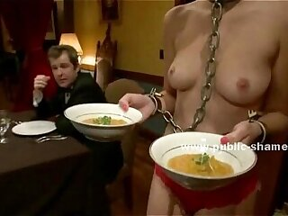 blonde bondage deepthroat extreme group sex public