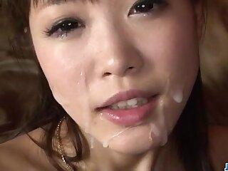 asian ass blowjob dildo facial insertion