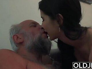 blowjob cumshot czech facial girls grandpa