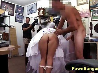 amateur ass big blonde blowjob bride