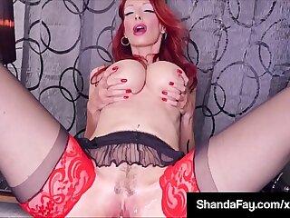 big housewife lingerie masturbating mature milf