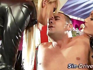 blowjob cfnm domination femdom fetish foot