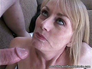 ass blowjob creampie mature milf mother