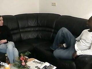 bbc big black blowjob cuckold cumshot