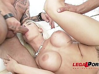 anal ass babe big blonde double penetration