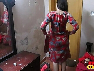 aunty hardcore indian son stripping wife