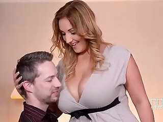 hubby natural tits wife