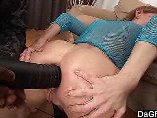 anal ass blowjob cumshot facial foursome