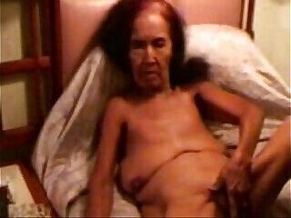amateur granny masturbating mature smoking