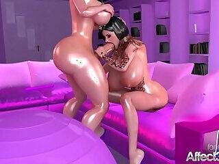 3d cartoons babe big big butts big tits blonde