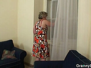 granny housewife mature mom mother old
