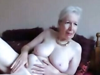 beautiful granny pussy shaved