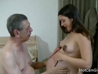 amateur creampie family fucking grandpa mature