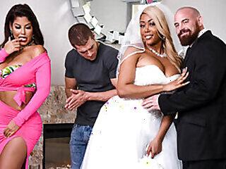 big big butts big tits bride european latina