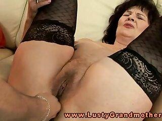 amateur anal granny lingerie mature milf