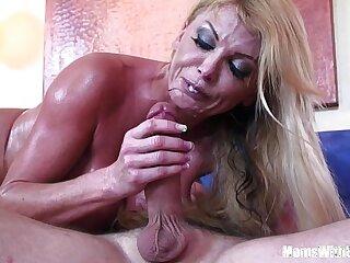 big black blonde blowjob boobs cougar