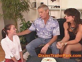 babysitter creampie daddy daughter family milf
