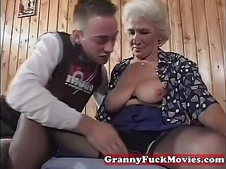 dick granny mature old old and young