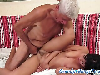 amateur babe european grandpa old old and young