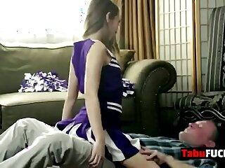 babe brunette daddy fucking girls hardcore