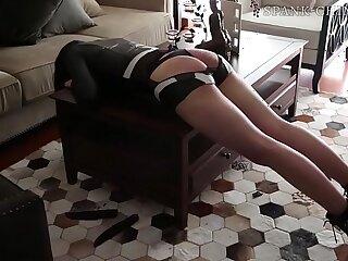 chinese secretary spanking