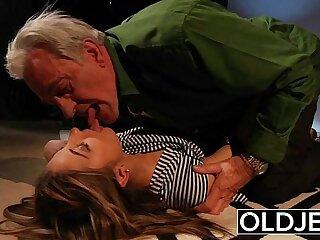 blowjob doggystyle fucking girls grandpa kissing