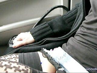brunette car german outdoor prostitute public
